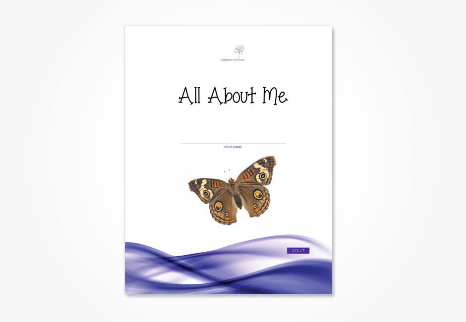 All About Me (Adult Workbook)
