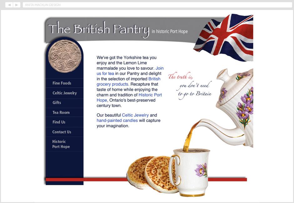 The British Pantry