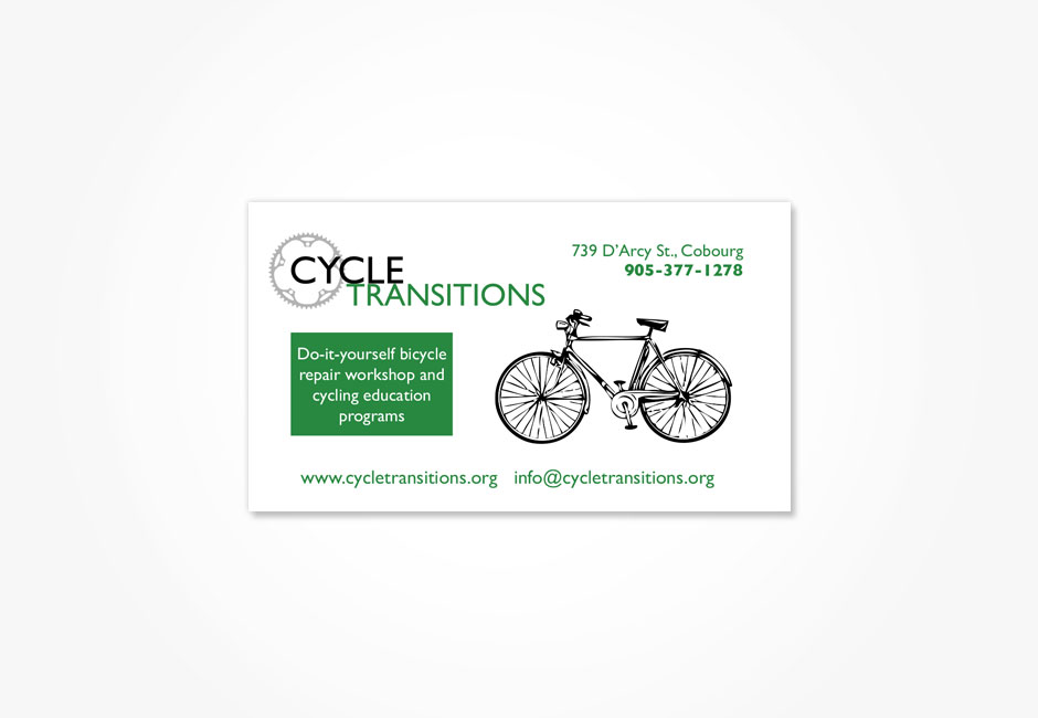 Cycle Transitions Business Card