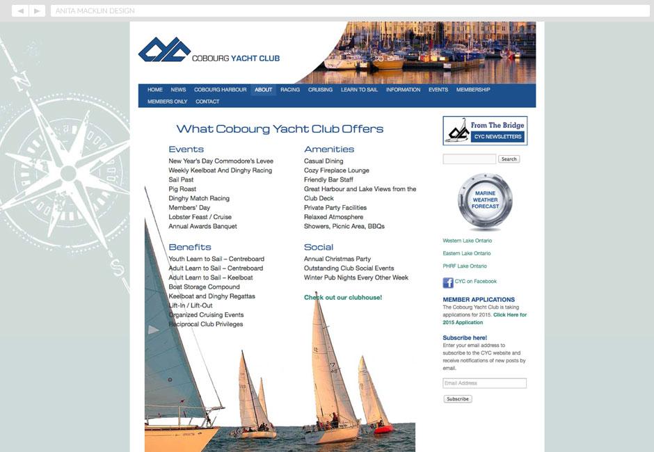 Cobourg Yacht Club 2