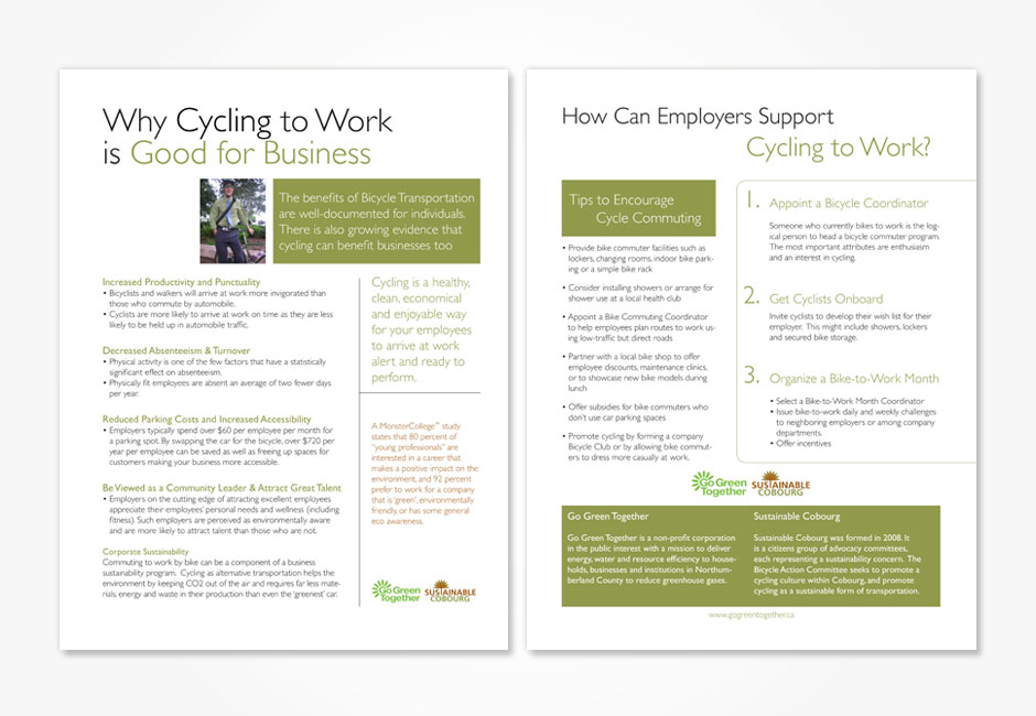 Cycling to Work Flyer