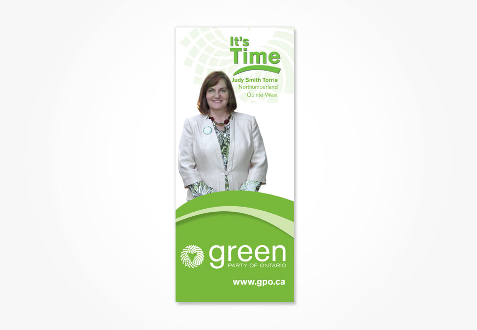 Green Party of Ontario Flyer