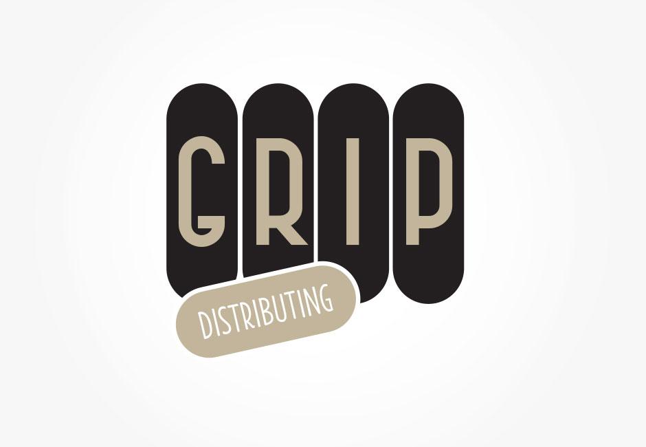GRIP Distributing Logo