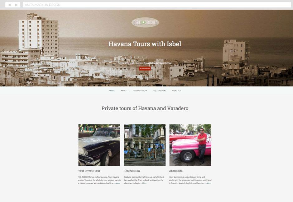 Isbel Tours, Havana, Cuba