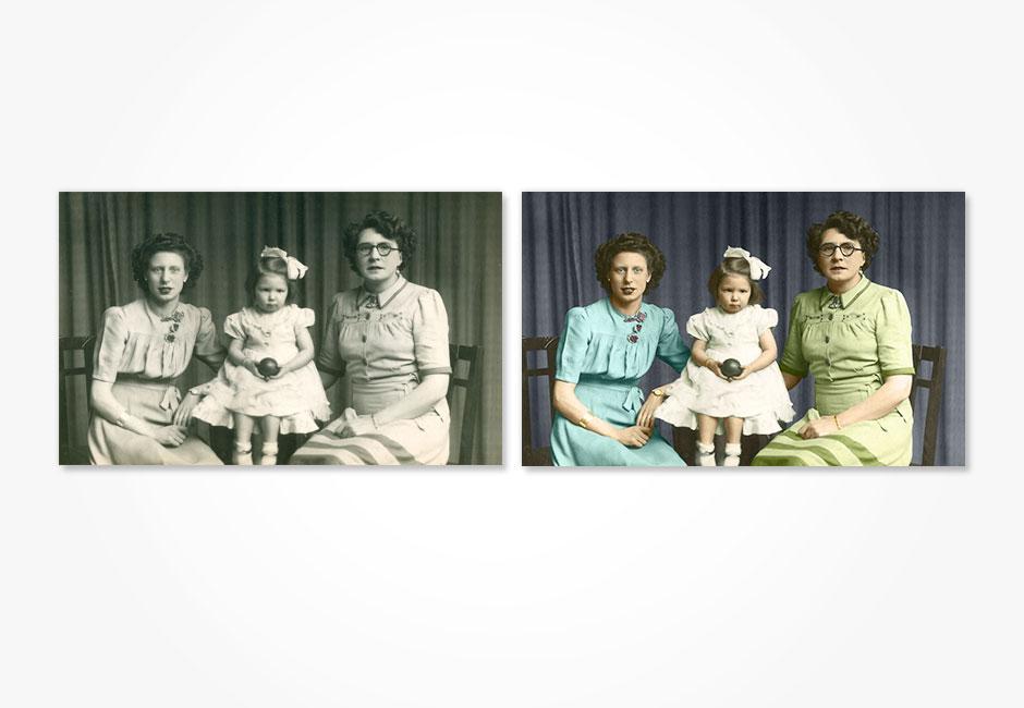 Photoshop restoration (Colorization)