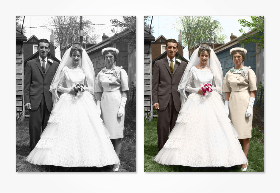 Photoshop restoration (Colorization) 3