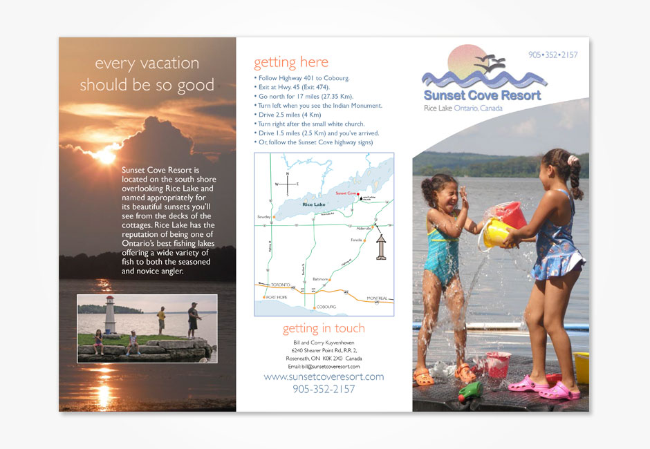 Sunset Cove Flyer