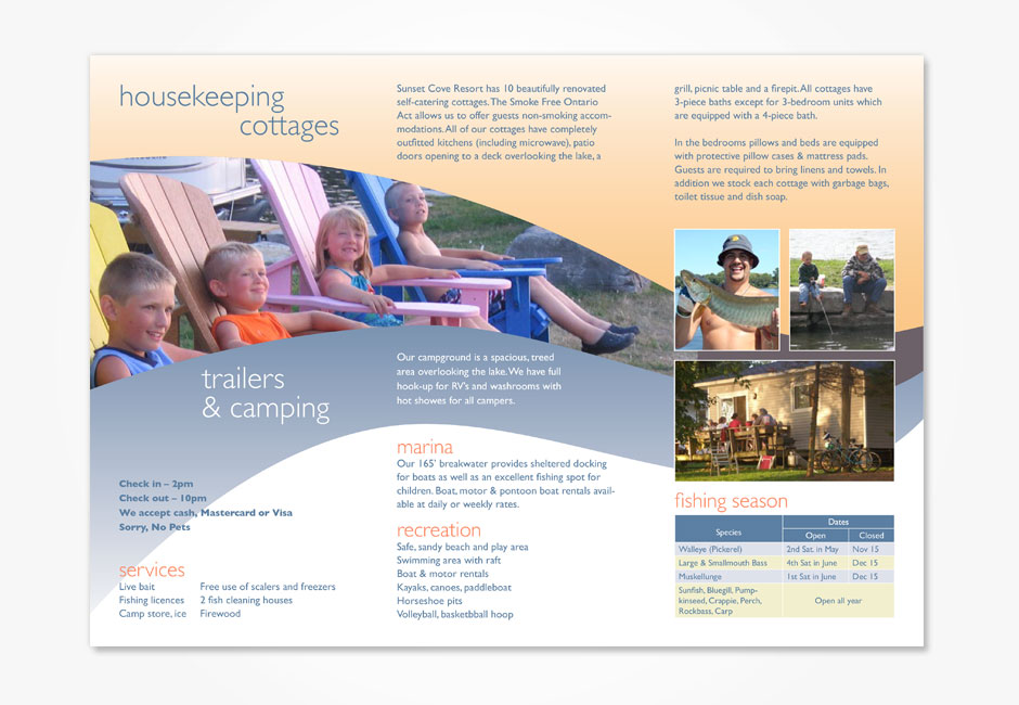 Sunset Cove Flyer 2