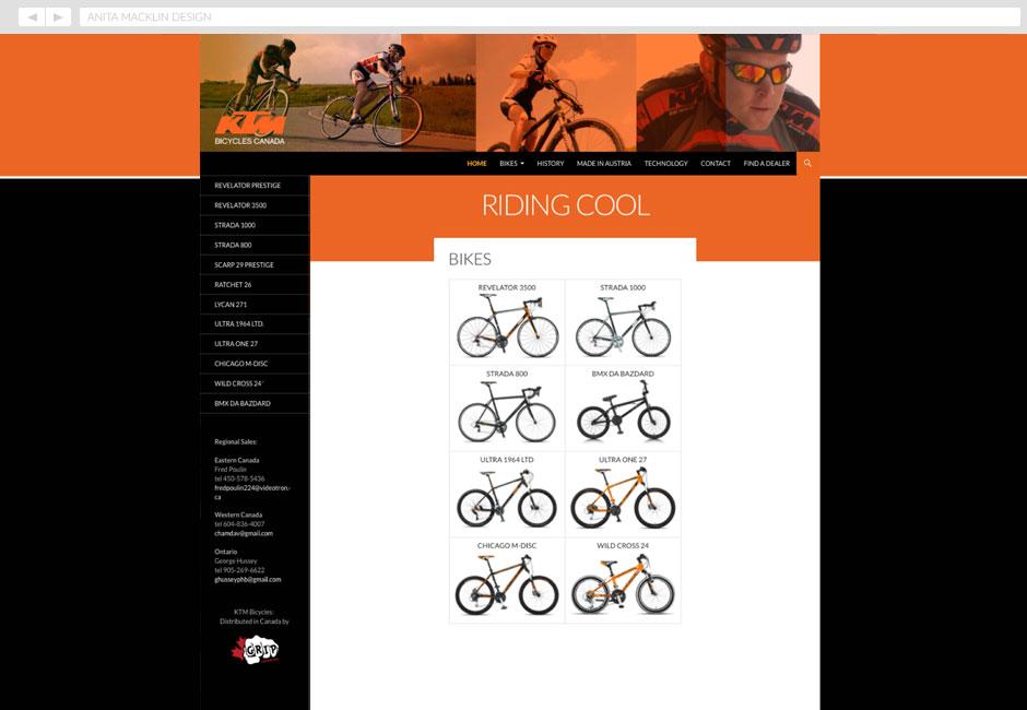 KTM Bicycles Canada 2