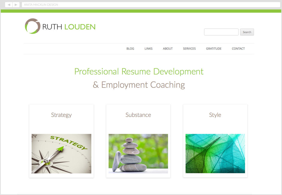 Ruth Louden, Employment Coaching